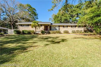 Mobile County Single Family Home For Sale: 4012 Sierra Drive