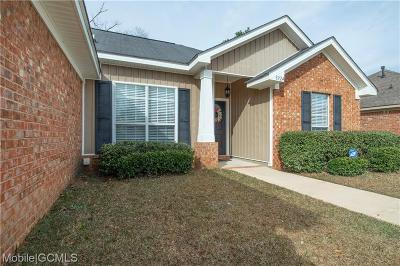 Mobile Single Family Home For Sale: 8924 Spring Grove N
