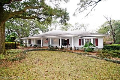 Mobile Single Family Home For Sale: 656 Montcliff Drive S