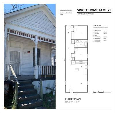 Mobile Single Family Home For Sale: 961 Elmira Street