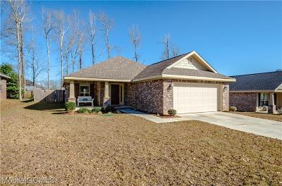 Mobile Single Family Home For Sale: 9598 Spring Meadow Drive S