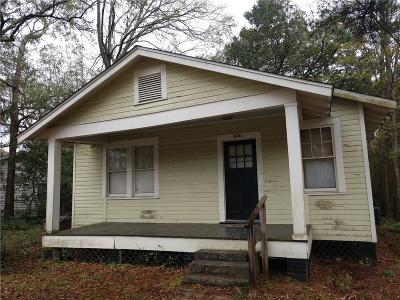 Mobile Single Family Home For Sale: 601 Williams Street