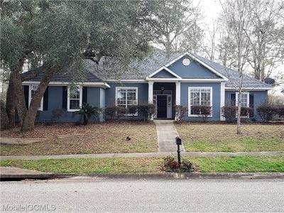 Mobile County Single Family Home For Sale: 10139 Summerlake Court