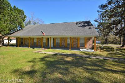 Mobile Single Family Home For Sale: 1201 Twelve Oaks Drive