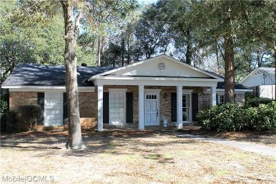 Mobile Single Family Home For Sale: 508 Spring Park Drive E