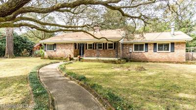 Mobile Single Family Home For Sale: 4278 Regulus Drive
