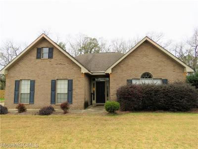 Semmes Single Family Home For Sale: 2565 Pecan Pointe Drive