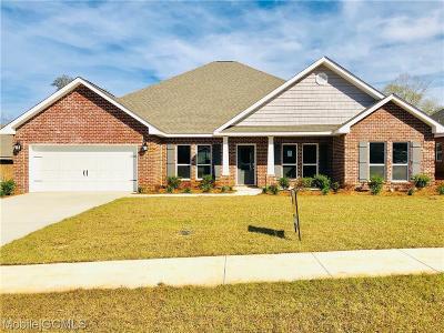Mobile Single Family Home For Sale: 1341 Sierra Estates Drive