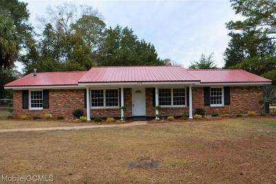 Mobile Single Family Home For Sale: 4339 Volta Drive