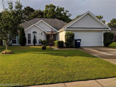 Mobile Single Family Home For Sale: 8526 Southern Oak Court