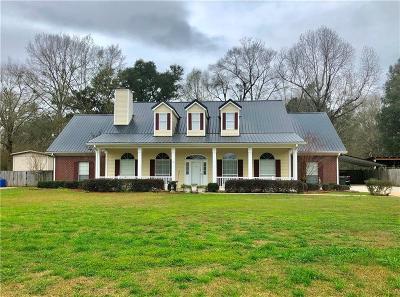 Single Family Home For Sale: 1276 Leroy Stevens Road