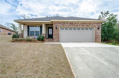 Mobile County Single Family Home For Sale: 2295 Muscadine Court