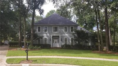 Mobile County Single Family Home For Sale: 2850 Post Oak Circle