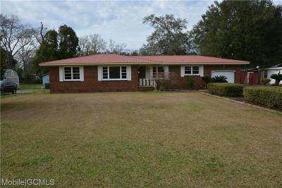 Mobile County Single Family Home For Sale: 430 Shelton Beach Road