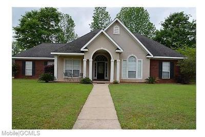 Satsuma Single Family Home For Sale: 5921 Daphne V Street