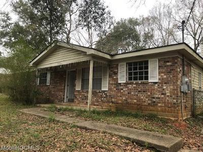 Mobile County Single Family Home For Sale: 850 Debonair Drive