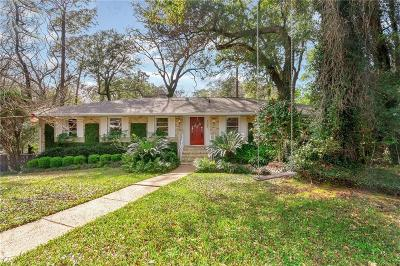 Mobile County Single Family Home For Sale: 4165 Ursuline Drive