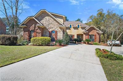 Saraland Single Family Home For Sale: 8399 Willow Walk Court