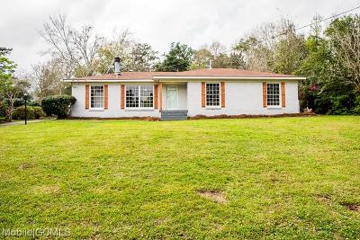 Mobile County Single Family Home For Sale: 4156 Shan Drive E