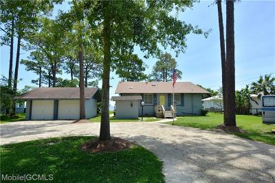 Mobile County Single Family Home For Sale: 14517 Dauphin Island Parkway