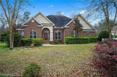 Saraland Single Family Home For Sale: 6385 Lakeview Court