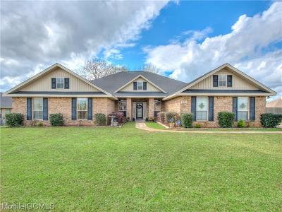 Semmes Single Family Home For Sale: 2237 Edison Drive