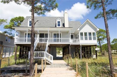 Dauphin Island Single Family Home For Sale: 345 Audubon Place