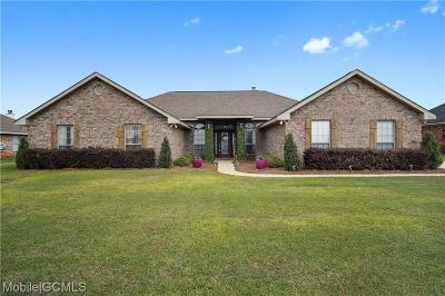 Mobile Single Family Home For Sale: 10166 Dairy Drive S