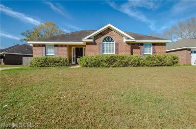 Semmes Single Family Home For Sale: 8200 Woodbend Drive