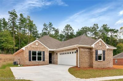 Mobile County Single Family Home For Sale: 6912 Somerby Lane