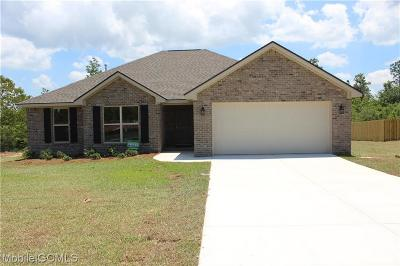 Jefferson County, Shelby County, Madison County, Baldwin County Single Family Home For Sale: 38080 Skidder Way