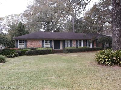 Mobile County Single Family Home For Sale: 12 Kingsway