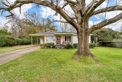 Single Family Home For Sale: 7150 Cedar Street