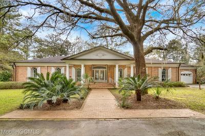 Mobile County Single Family Home For Sale: 3317 Riviere Du Chien Road