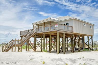 Dauphin Island Single Family Home For Sale: 2619 Bienville Boulevard