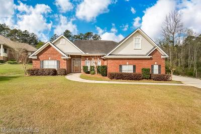 Mobile County Single Family Home For Sale: 6640 Henson Court W