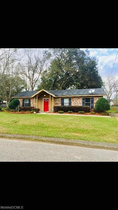 Theodore Single Family Home For Sale: 8600 McAdams Drive S