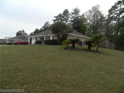 Theodore Single Family Home For Sale: 6582 Destinee Nicole Drive