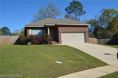 Mobile Single Family Home For Sale: 1211 Stratford Court S