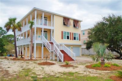 Dauphin Island Single Family Home For Sale: 721 Hernando Place