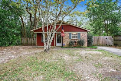 Mobile Single Family Home For Sale: 2805 Mayflower Drive