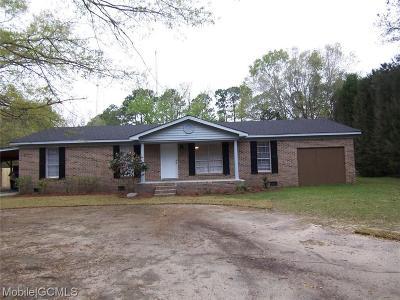 Mobile County Single Family Home For Sale: 6634 Oak Drive E