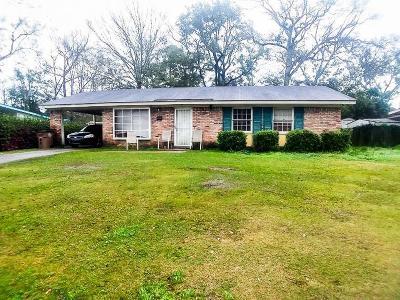 Mobile County Single Family Home For Sale: 507 Santa Barbara Drive