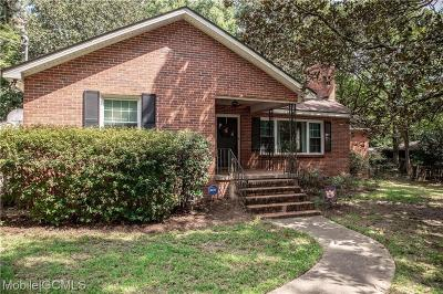 Mobile Single Family Home For Sale: 307 Gaines Avenue
