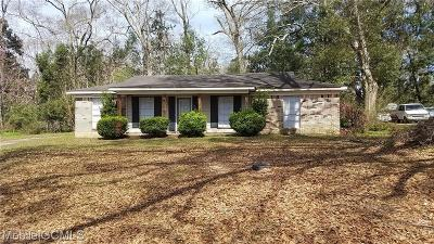 Grand Bay Single Family Home For Sale: 12800 Cherokee Court