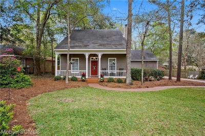Mobile County Single Family Home For Sale: 1633 Sugar Creek Drive W