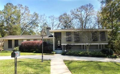 Mobile Single Family Home For Sale: 7 Spring Bank Road S