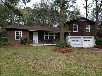 Mobile Single Family Home For Sale: 5212 Colonial Circle N