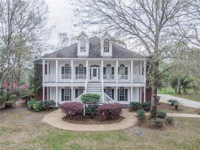 Mobile Single Family Home For Sale: 4273 River Oaks Lane