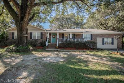 Satsuma Single Family Home For Sale: 166 Gator Avenue